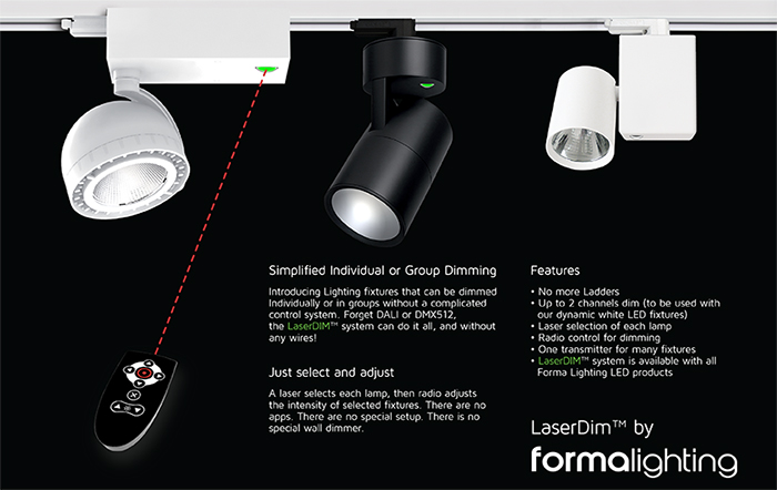 Laserdim by forma lighting