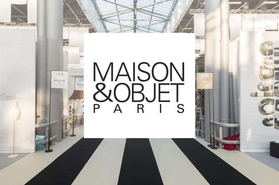 Maison Objet Paris 2019 News W906px
