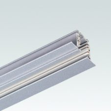 Eurotype Flanged Recessed Track - L: 1000 mm