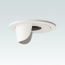 Recessed Lighting Wall Washer Trim White