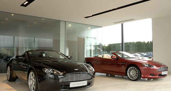 car showroom indoor lighting design